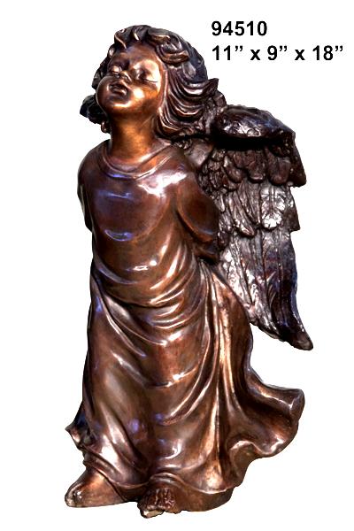 Bronze Angel Statue - AF 94510