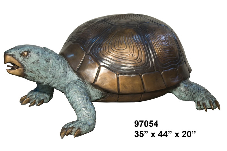 Bronze Turtle Fountain - AF 97054