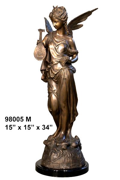 Bronze Angel Statue - AF 98005