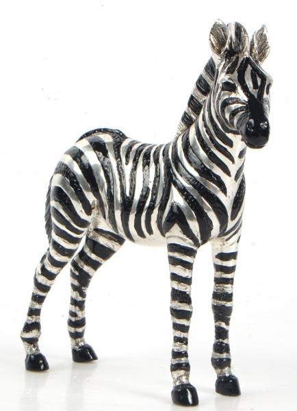 Bronze Baby Zebra Statue - CP A-292
