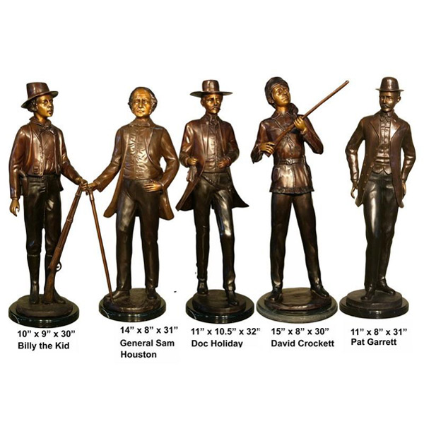 Bronze Legends of the West Statues - AF 28886S