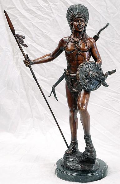 Bronze Indian Statue - AF 58522MTT