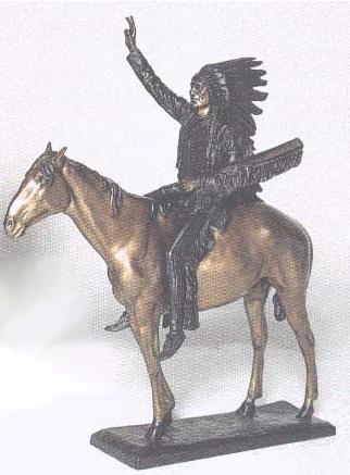 Bronze Washakie Statue - ASB 677