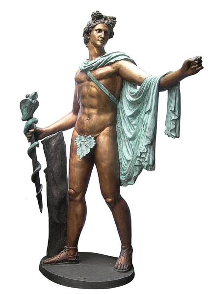 Bronze Apollo Statue - DD E-298