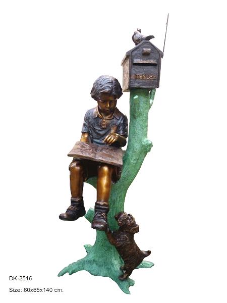 Bronze Children's Themed Mailbox - DK 2516
