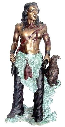 Bronze Indian Statue - DD E-231