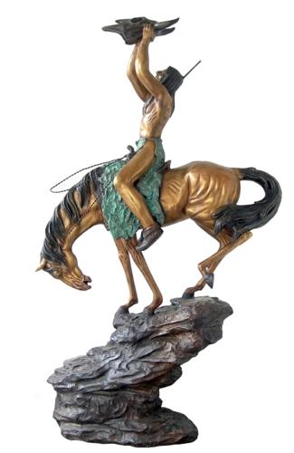 Bronze Horse Statues - DD E-275