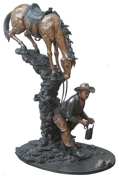 Bronze Horse Statues - DD E-307