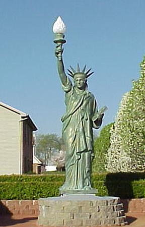 Bronze Statue of Liberty - DD E-321