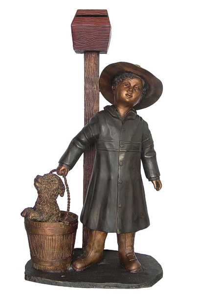 Bronze Children's Themed Mailbox - DD G-071