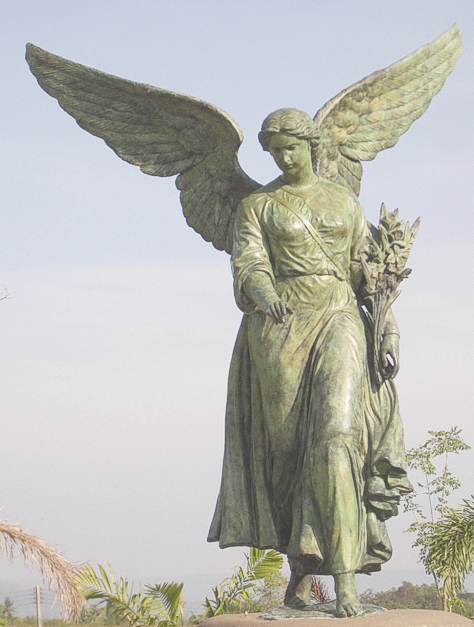 Bronze Angel of Water Fountain/Statue - PA S-1115