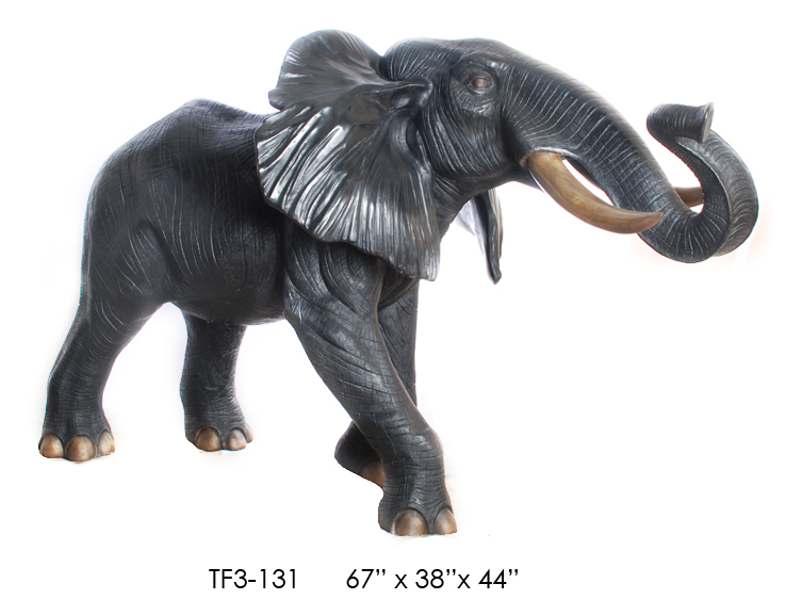 Bronze Elephant Statue - ASI TF3-131