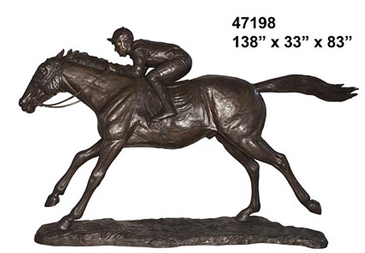 Bronze Horse Statues - AF 47198