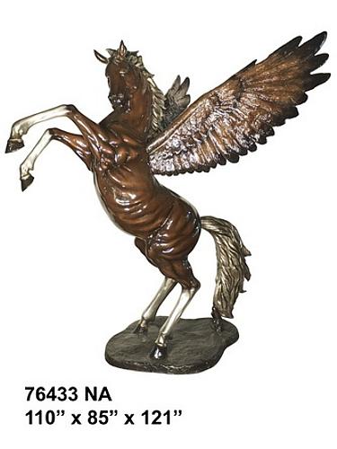 Bronze Pegasus Statue - AF 76433NA