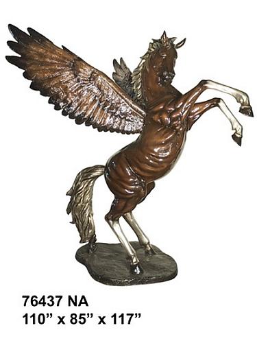 Bronze Pegasus Statue - AF 76437NA