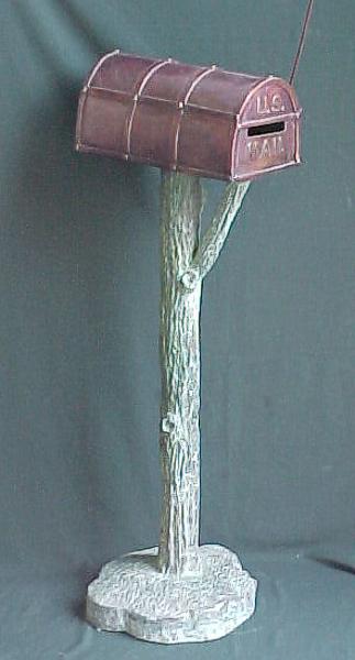 Bronze Themed Mailbox - PA G1018