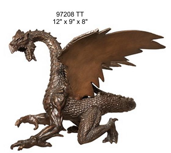 Bronze Dragon Sculptures - AF 98208 TT